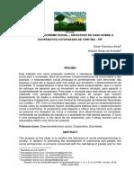 ESTUDO DE CASO - EMPREENDEDORISMO SOCIAL