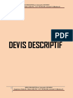 devis descriptif