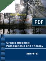 Uremic bleeding