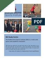 Sports institute