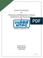 Ntpc Intern Report