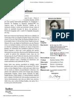 Honoré de Balzac –