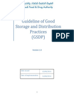 Storage and distribution practice