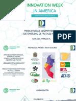 Productividad, competitividad y sostenibilidad frutícola andina