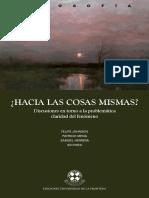 2018 ¿Hacia las cosas mismas_ Johnson, Mena, Herrera (eds), Ed. La Frontera (Libro completo).pdf