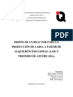 Diseño de Reactor químico