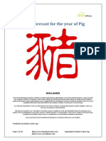 2019 Prediction for the Year of Pig V1.0