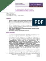 Bases Inmunológicas de Las Vacunas