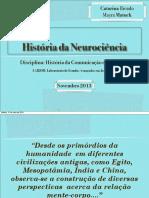 Seminário História da Neurociência
