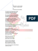 Poesia Coral Madre