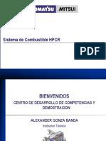 Sistema de Combustible HPCR