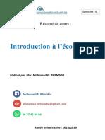 Econometrie Mohamed EL Rhendor