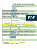 Cálculo de Esforços de Vigas- Estrutura Contraventada