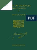 36 Pedro de Valencia VI