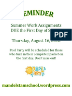 Summer Work Assignment Reminder.docx