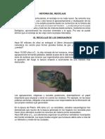 Historia Del Reciclaje