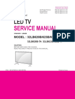 LG 32LB620B Chassis LB43B Service Manual