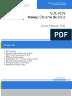 SOL4039 Clase 01 Manejo Eficiente Stata Clase01
