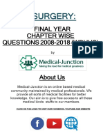 SURGERY 2018-2008 Regular+Supplementary Chapter wise Question Papers WBUHS-Copy