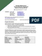 pe syllabus - guide for success 19-20
