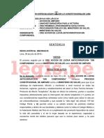 Sentencia Exp. 31583 2014