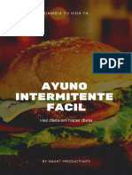 Ayuno Intermitente Facil - SMART Productivity