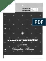 Marantz 2216 B Service Manual