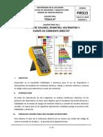 Laboratorio 1 - FIR315 2018