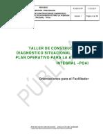 taller construcción del diagnostico institucional
