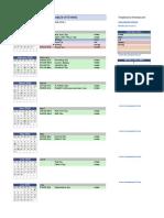 Planeador anual
