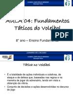 Fundamentos táticos do voleibol