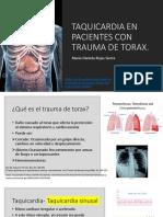 Taquicardia en pacientes con trauma de tórax