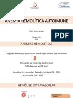ANEMIA HEMOLÍTICA AUTOIMUNE