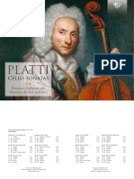 Francesco Galligioni - Platti Cello