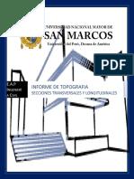 Informe de Secciones Transversales y Longitudinales