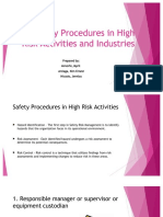 Kupdf.net Basic Safety Procedures in High Risk Activities And