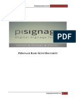 Basic Install Pisignal