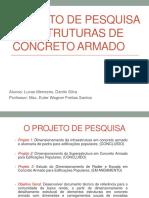 Apresentação Do Projeto - Concreto 3 - PDF