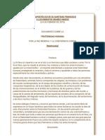 Documento Sobre La Fraternidad Humana Por La Paz Mundial y La Convivencia Común (Abu Dabi, 4 de Febrero de 2019)