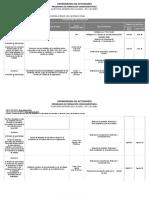 Cronograma Auditoria Interna. Agosto (2)