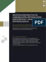 Massoni - Investigación Enactiva en Comunicación, Metodologías Participativas y Asuntos Epistemológicos