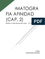 Cromatografia Afinidad (Cap. 2)