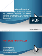 3 Sistemas registrales
