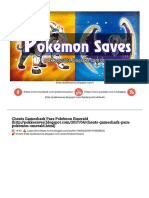 Cheats Gameshark Para Pokémon Emerald ~ Pokemon Saves.pdf