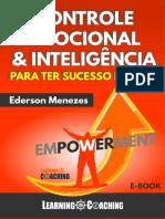 E-book Controle Emocional e Inteligência Para Ter Sucesso Na Vida - Ederson Menezes