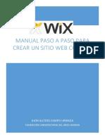 Manual Paso a Paso Para Crear Un Sitio Web Con Wix (Parte 1)