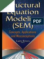 Structural Equation Modeling -- Rivera