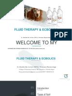 Fluid Therapy & Ecbolic Lecturer notes-Dr.Jibachha Sah,M.V.Sc(Vet.Pharmacology)