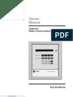 UCM-CLD Chiller Control System - RLC-SVU02F-E4