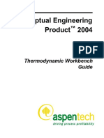 Aspen Distil Thermodynamic Workbench Guide
